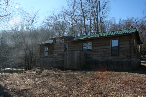 Trout Cabin Back